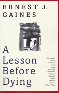 A Lesson Before Dying (Book Cover)