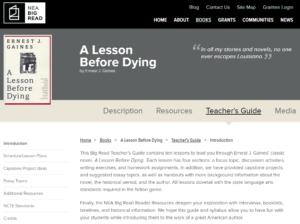 NEA Teachers Guide